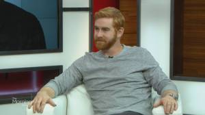 Comedian Andrew Santino brings his jokes to Just For Laughs