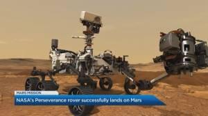 Significance of NASA's historic landing on Mars (04:51)