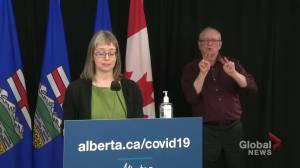 1 week since Alberta eased COVID-19 restrictions on dining and fitness (02:20)