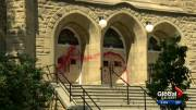 Play video: Calgary police investigating if church vandalism was a co-ordinated effort