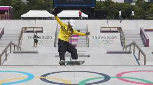 New sporting events shred new ground at Tokyo Olympics (01:55)
