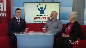 Parkinson Superwalk at Meewasin Park North on Sept. 8