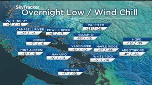 Arctic outflow warnings & the first major snowstorm for Metro Vancouver (02:45)