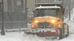 Winter storm brings heavy snow and rain to Nova Scotia (02:51)