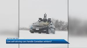 Can self-driving cars handle Canadian winters?