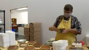 Brunswick Street Mission hosts takeout Thanksgiving dinner (02:12)