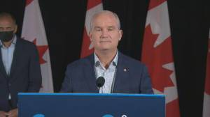 Canada election: O'Toole dodges questions on whether he'd keep Liberal carbon tax (03:09)
