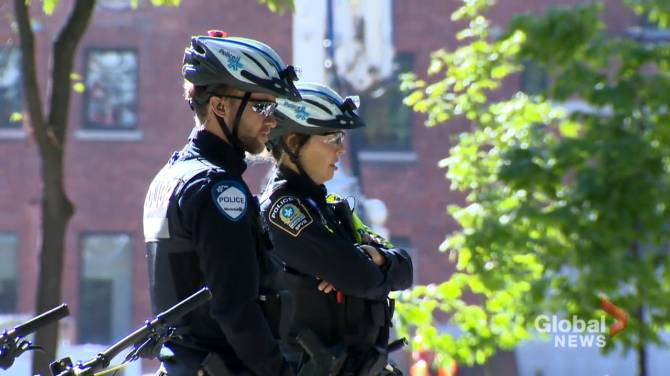 Click to play video: Montreal police hold public consultation on new street check policy