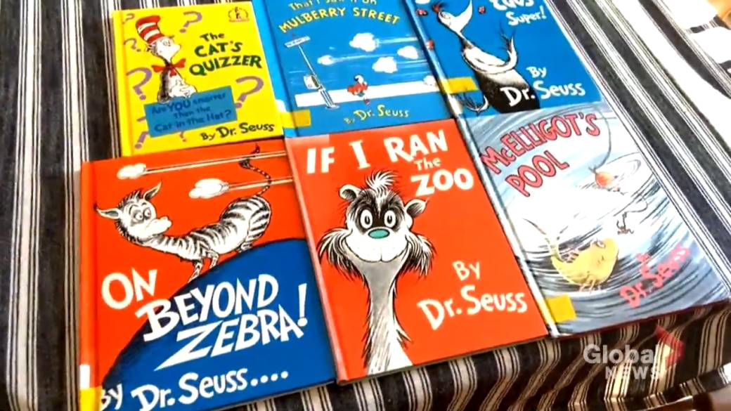 Click to play video: '6 Dr. Seuss books will no longer be published due to racist imagery'