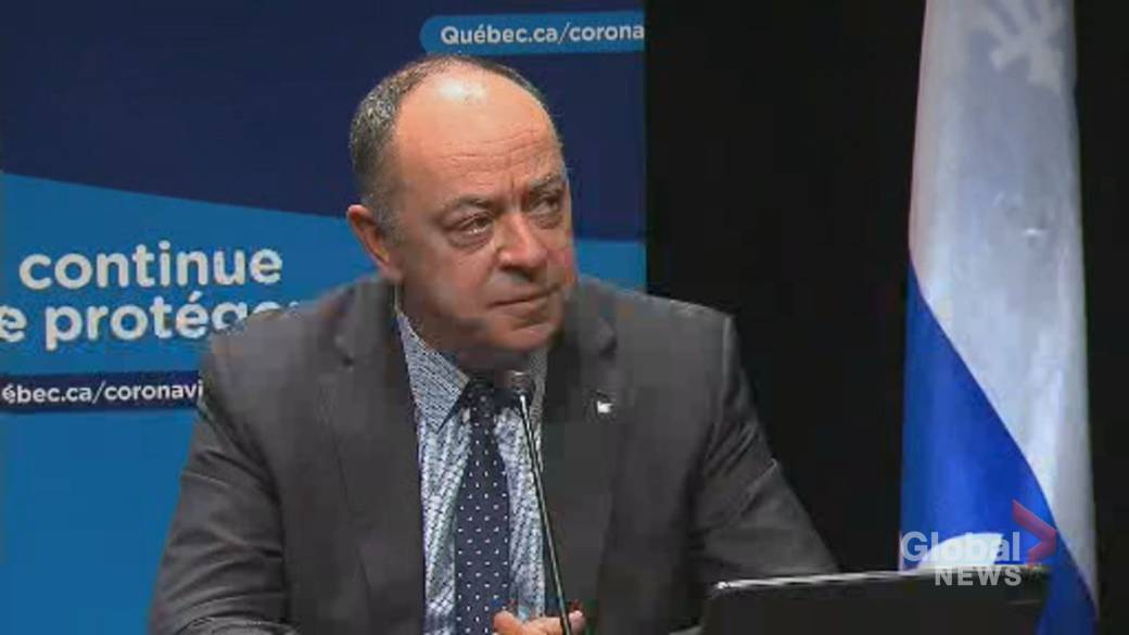 Click to play video 'Coronavirus: Dubé declines to say whether Quebec will make COVID-19 vaccines mandatory'