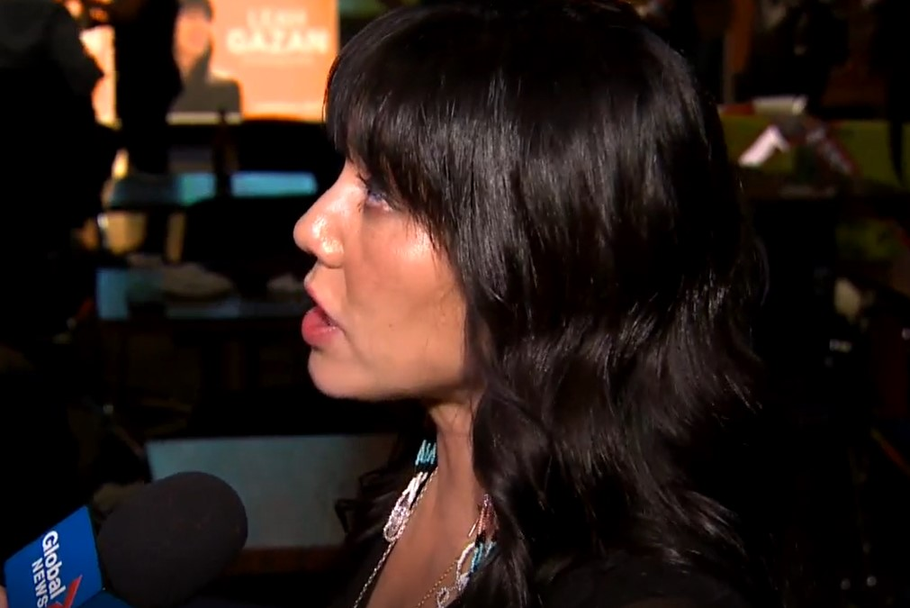 Federal Election 2019: Newly elected NDP MP Leah Gazan speaks after her win in Winnipeg Centre