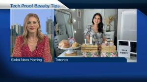Beauty tips to deal with tech trouble (03:36)