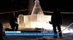 Vernon Winter Carnival transforms Polson Park into winter wonderland (01:48)
