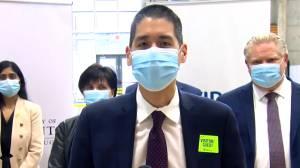 Coronavirus: Peel Region clarifies student isolation policy (00:50)