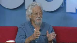 David Suzuki on climate change and the federal election