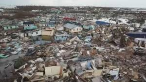 Hurricane Dorian slams Bahamas, at least 23 dead
