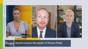 Buckingham Palace announces death of Prince Philip (04:50)