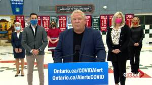 Coronavirus: Doug Ford says COVID-19 measures have been 'working,' asks health officials for reopening plan (01:10)