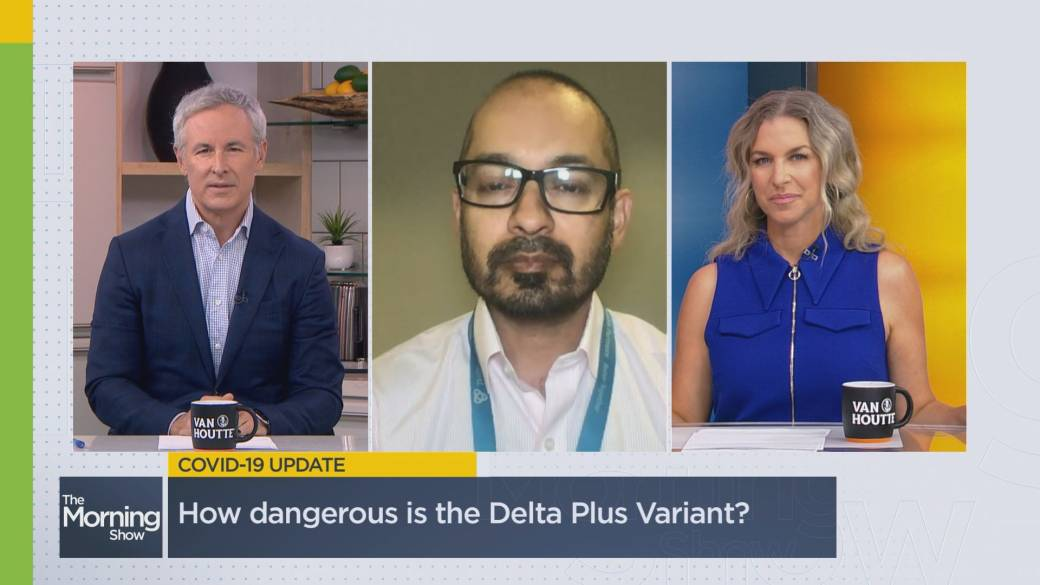 Click to play video: 'Should Canadians be worried about the Delta Plus variant?'