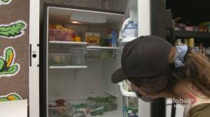 Calgary community fridge offers fresh options (01:40)