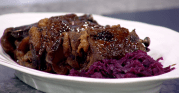 Play video: Cooking Together: Chris Gailus' Beef Rouladen