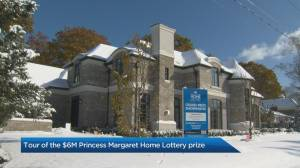 Tour of the $6M Princess Margaret Home Lottery grand prize