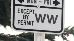 Proposed residential parking permit fees to be considered by Calgary city council (01:41)