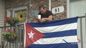 Cuban-Canadians in fear of speaking out (02:01)