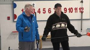 Kingston retires curl to stay active during winter months