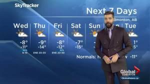 Edmonton Weather Forecast: Nov. 26
