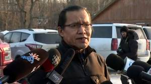 Wet'suwet'en chief says they are still waiting for RCMP to vacate rail blockades, grateful for nationwide solidarity
