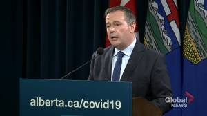 'I don't apologize for the decision to relax public health restrictions in the summer': Kenney defends COVID-19 decisions (01:31)