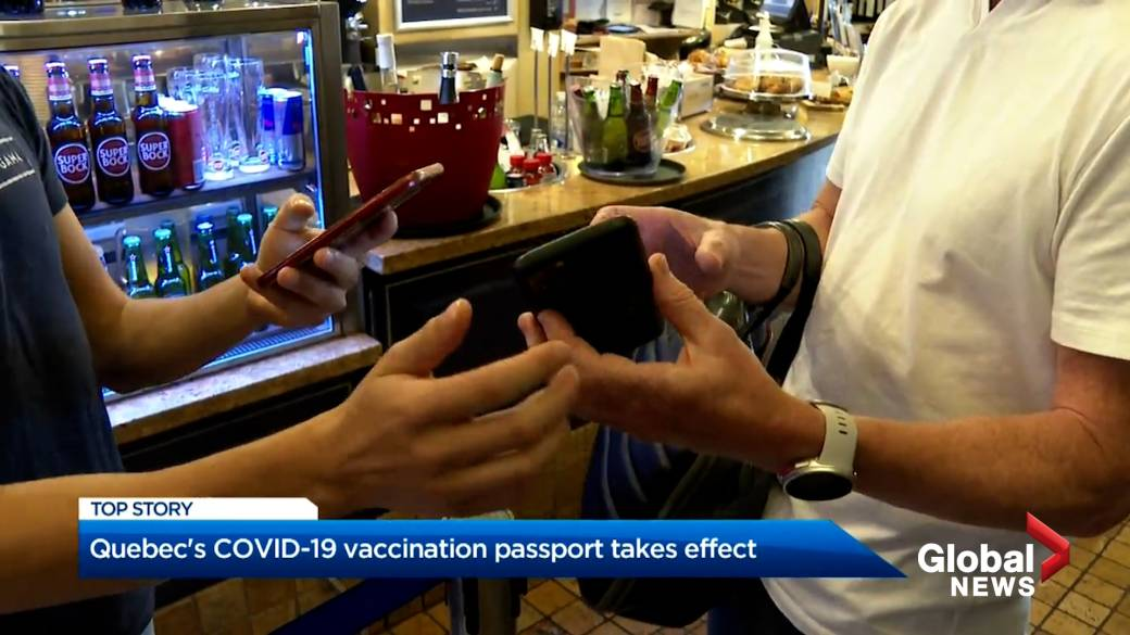 Click to play video: 'The rollout and resistance of COVID-19 vaccine passports in Quebec'
