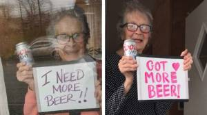 "A 93-year-old woman got a massive Coors Light delivered to her door after viral plea for ""more beer"""
