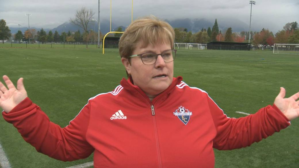 Click to play video 'Chilliwack amateur soccer club battles coronavirus bullies'