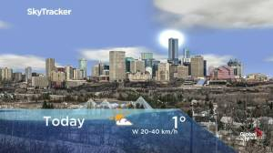 Edmonton early morning weather forecast: Monday, December 2, 2019