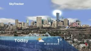 Edmonton early morning weather forecast: Monday, December 2, 2019