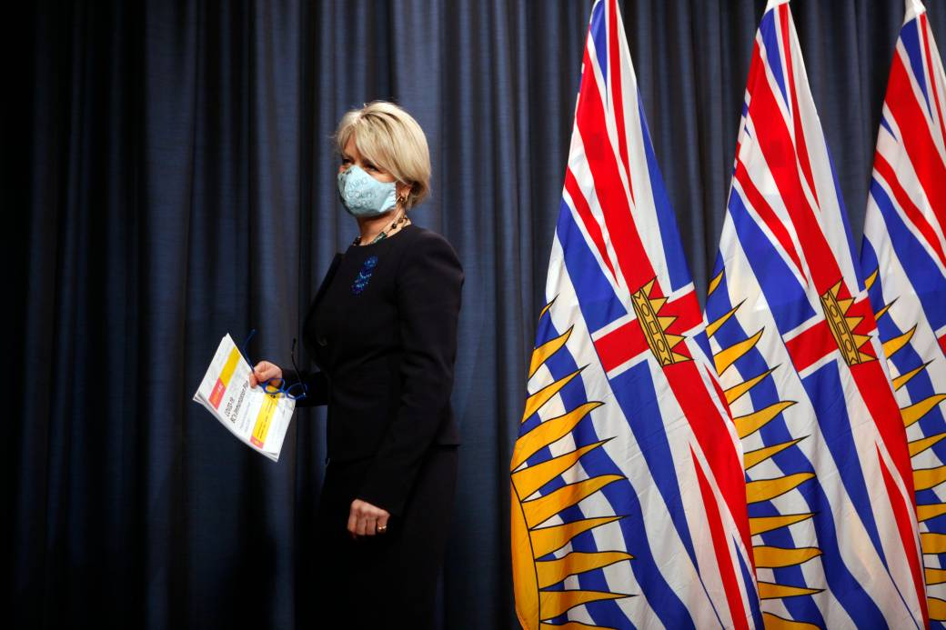 Click to play video: 'B.C. health officials hold press conference as vaccine card goes into effect, federal election one week away'