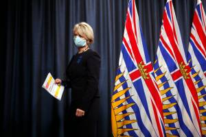 B.C. health officials hold press conference as vaccine card goes into effect, federal election one week away (03:54)