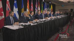 Canadian premiers meet for summit in Mississauga