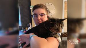 Saskatchewan teen battling extremely rare brain tumour (01:44)
