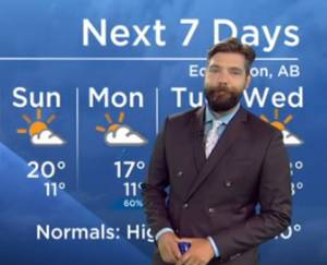 Edmonton Weather Forecast: Aug. 21