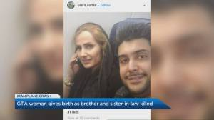 GTA woman gives birth as brother and sister-in-law killed in Iran plane crash