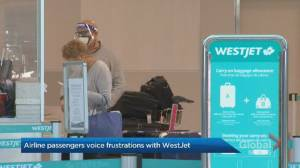 WestJet passengers frustrated after services cut, refunds refused (01:56)