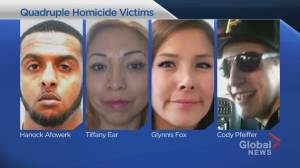Judge sentences pair to life in prison for Calgary quadruple killing