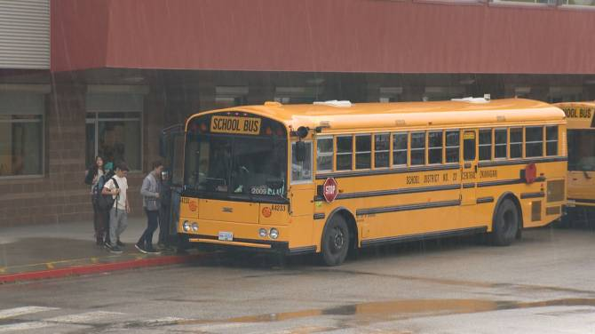 Click to play video: Central Okanagan School Board reduces fee increase recommendation to ride school bus