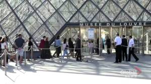 Coronavirus: Visitors rush to see the Mona Lisa as the Louvre re-opens in Paris