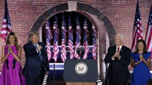 Trump's acceptance speech expected to target Biden