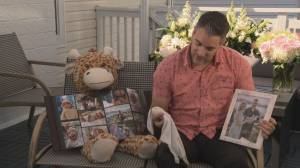 Langley couple shares the grief of losing their infant son (02:11)