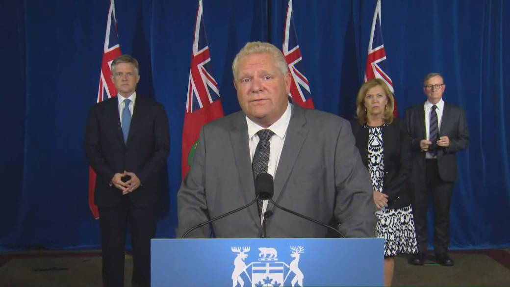 Click to play video 'Coronavirus: Premier Doug Ford says Ontario 'is in the second wave''